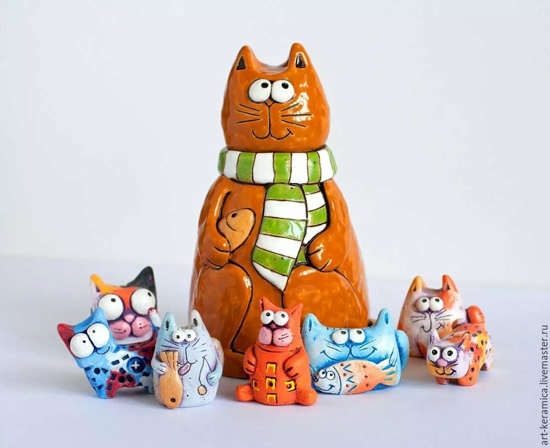 цена веселые коты керамика пройдешь