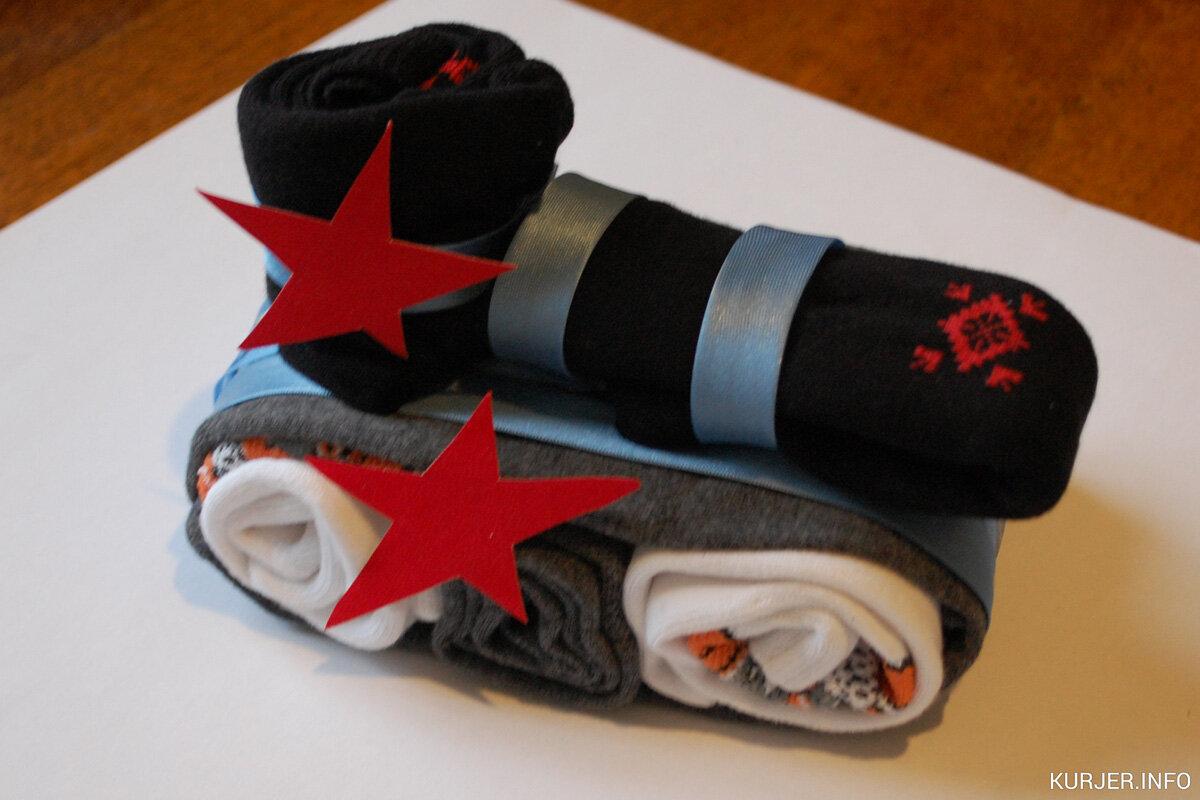 Танк из носков для мужчины фото