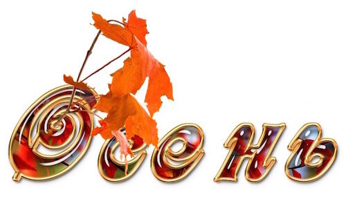 Картинки осень по месяцам с надписью, домового