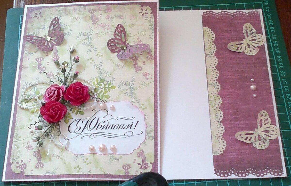 Как оформить внутреннюю часть открытки на день рождения