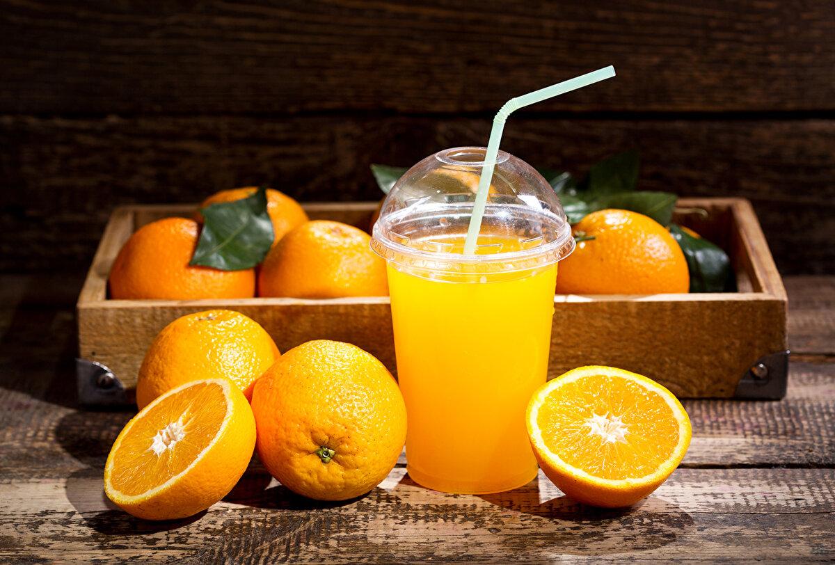 Картинка апельсинового сока