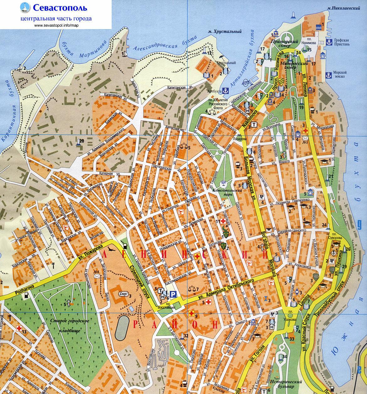 севастополь на карте картинки