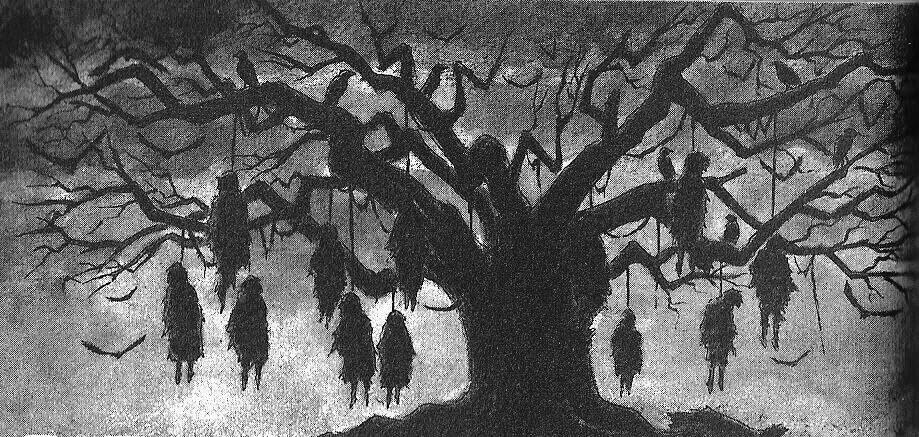 Картинки виселицы на дереве