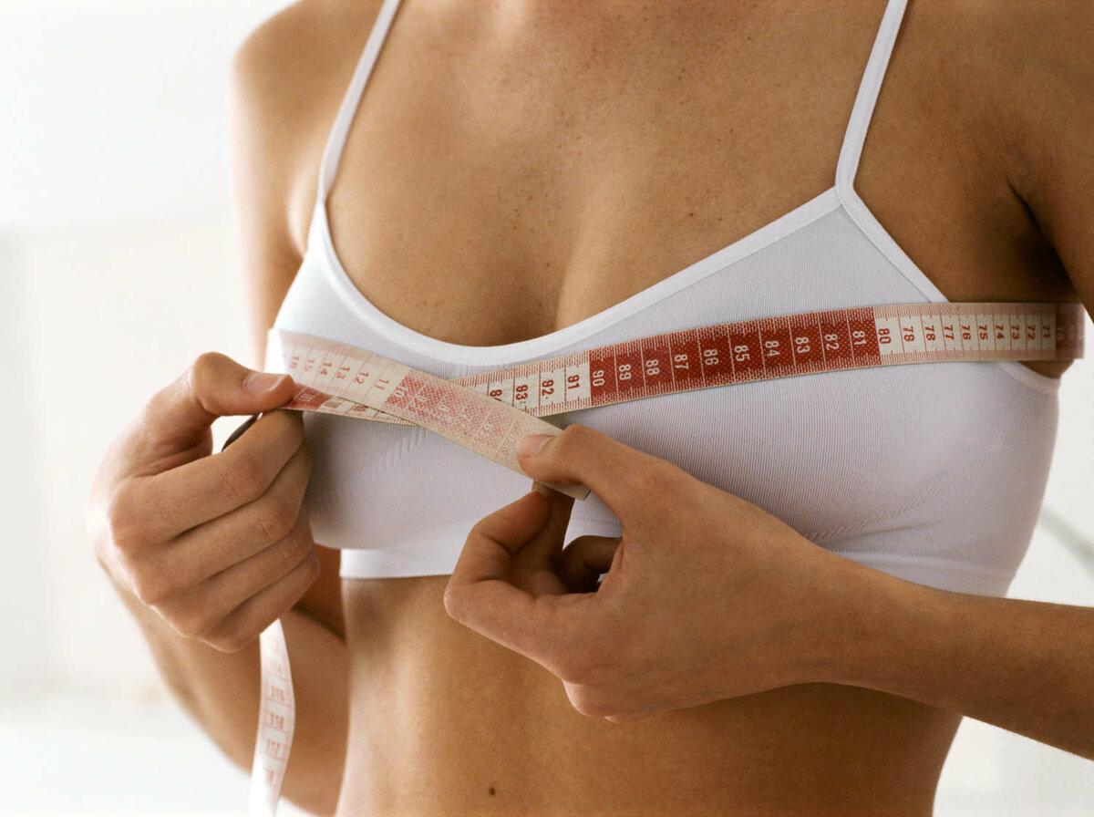 Рост груди у девушек фото