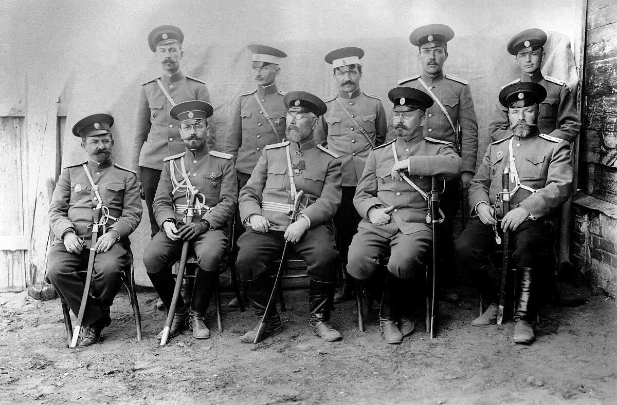 Фото русских офицеров до революции