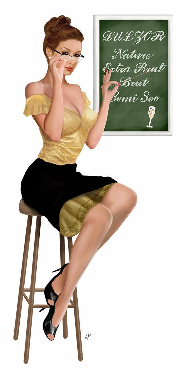 Открытка строгая учительница, анимация