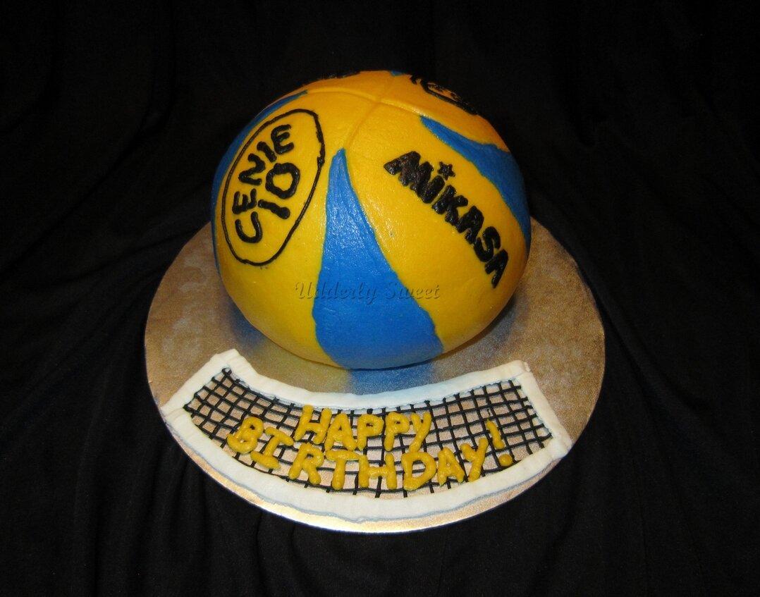 Открытка с днем рождения мужчине спортсмену волейболисту