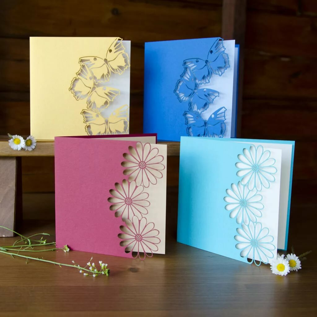 Днем свадьбы, как самодельную открытку
