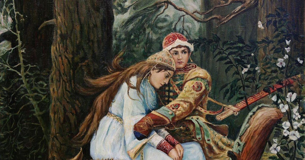 Иван царевич на сером волке васнецов картинка
