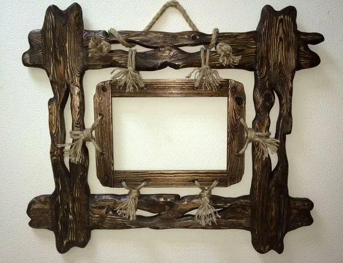 обязан тебе декоративные рамки для фото из дерева стенах фото