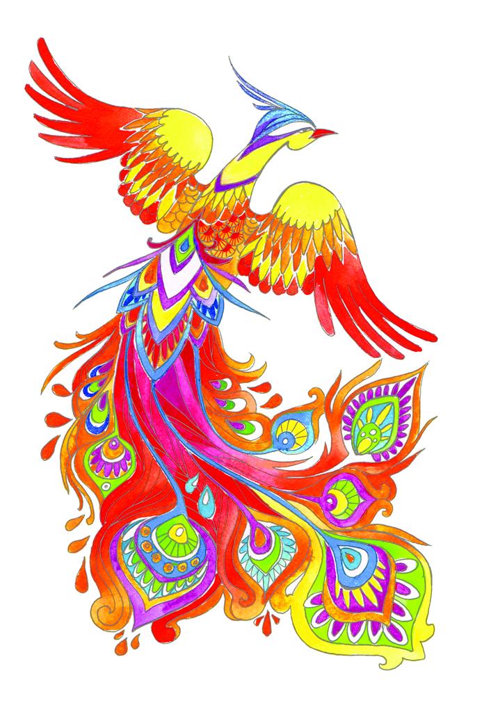 Чудо птица картинки для детей