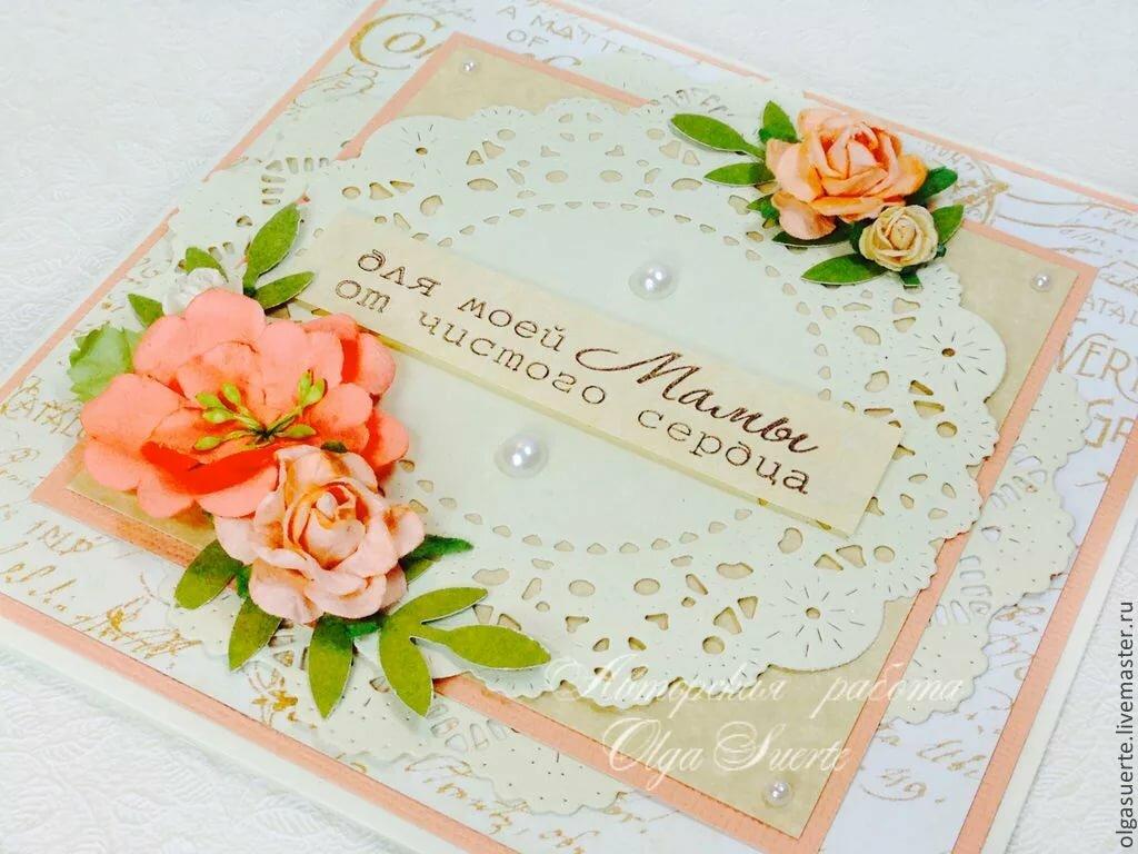 Поздравление, картинки скрапбукинг день матери