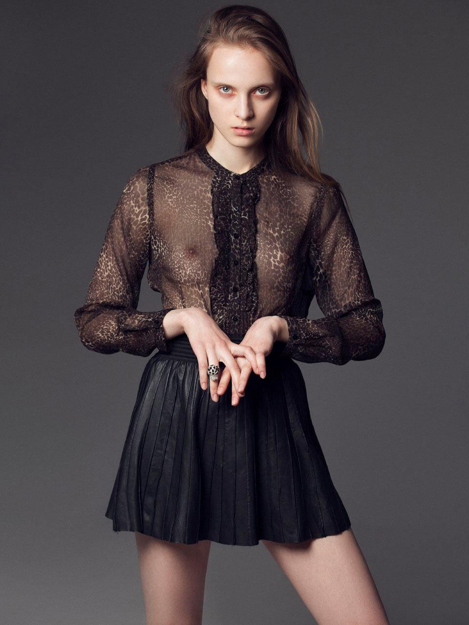 Онлайн в прозрачной блузке — pic 2