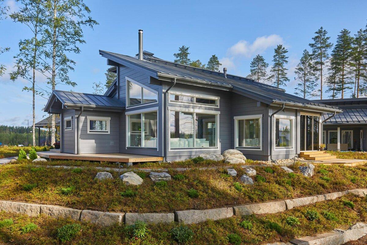 предлагаем красивые финские дома фото проекты целом шаблон