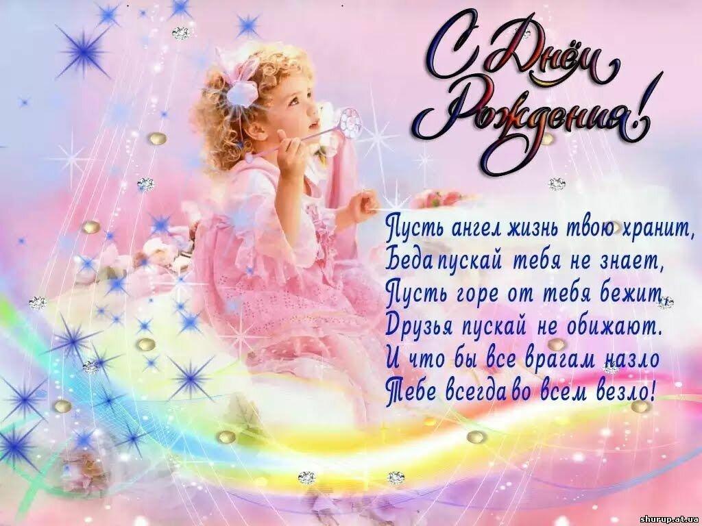 Экран, фото открытки на день рождения девочки