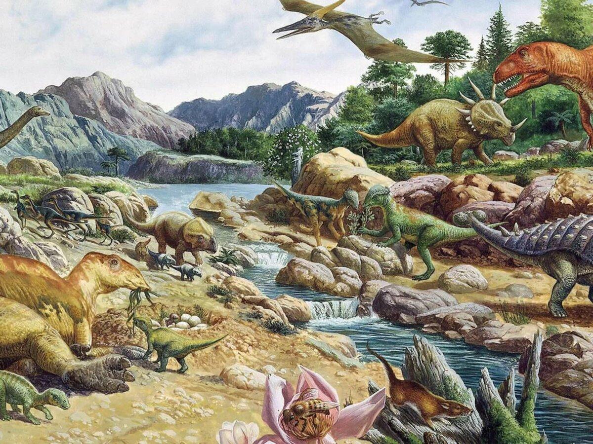 листок пополам жизнь динозавров картинки купить