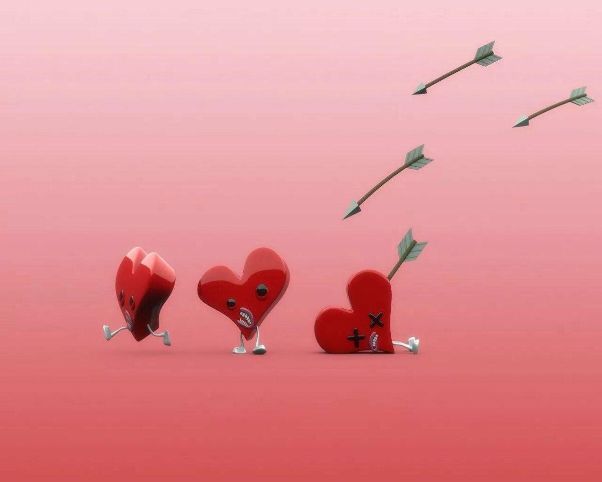 Открытки любовь это прикольные