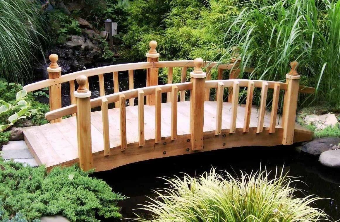 Декоративный мостик картинки