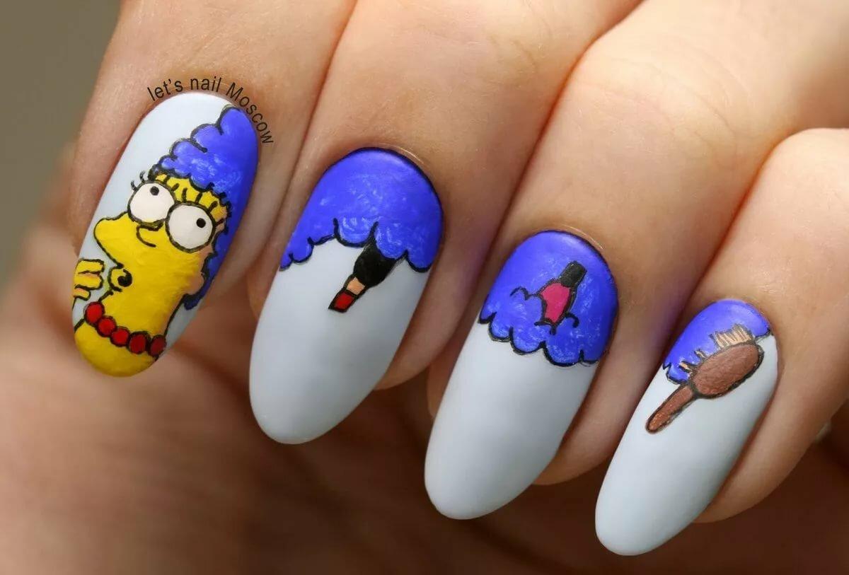 Картинки ногти прикольные, мышек смешные