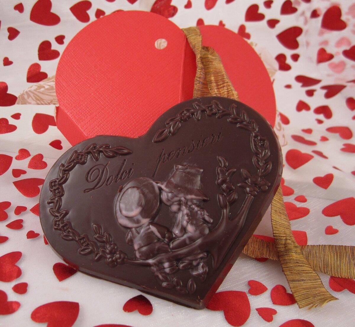шоколадные валентинки картинки могут быть