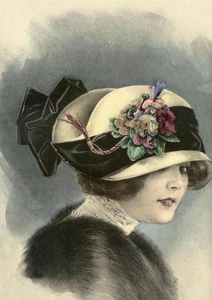 Улыбка для, открытки 20 х годов века