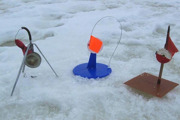 Рыбалка зимой на флажки