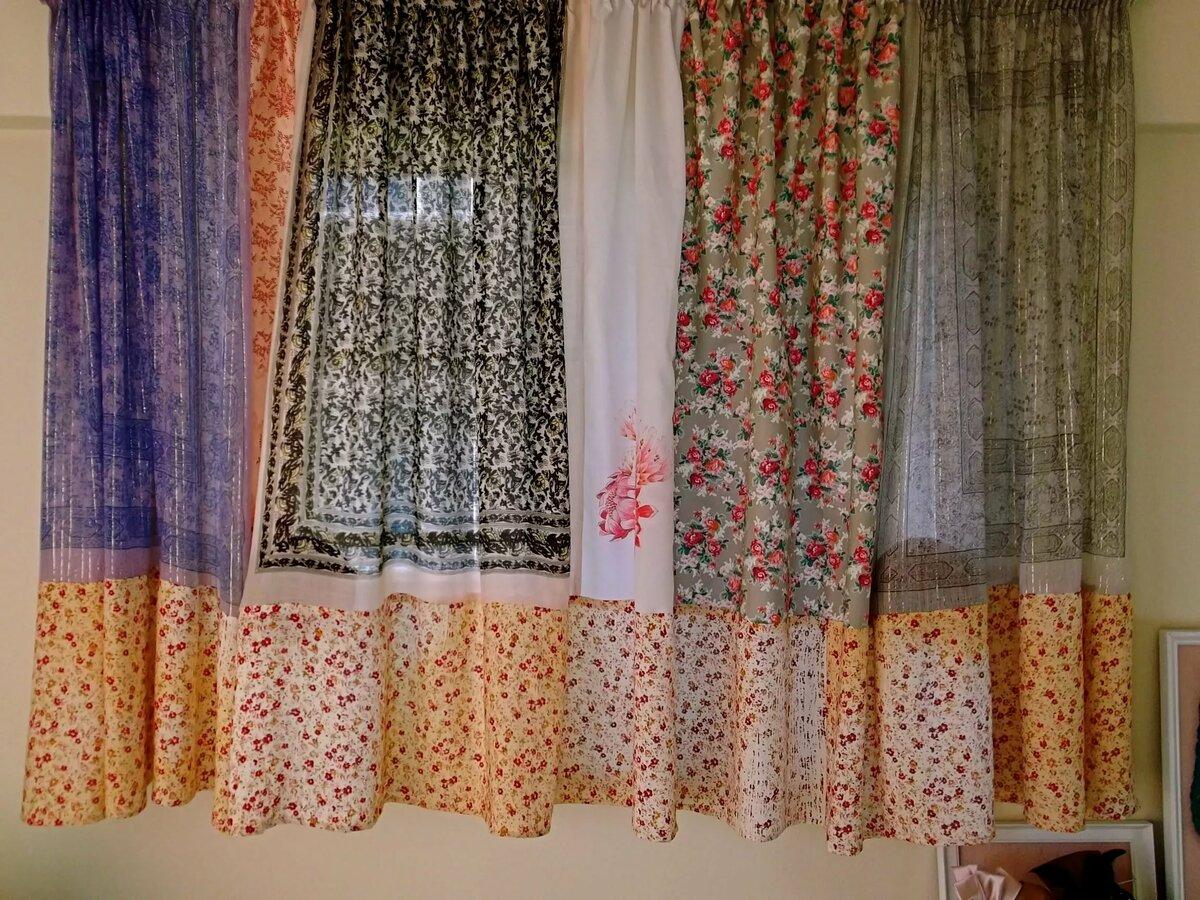 также как обновить старые шторы своими руками фото можете прийти