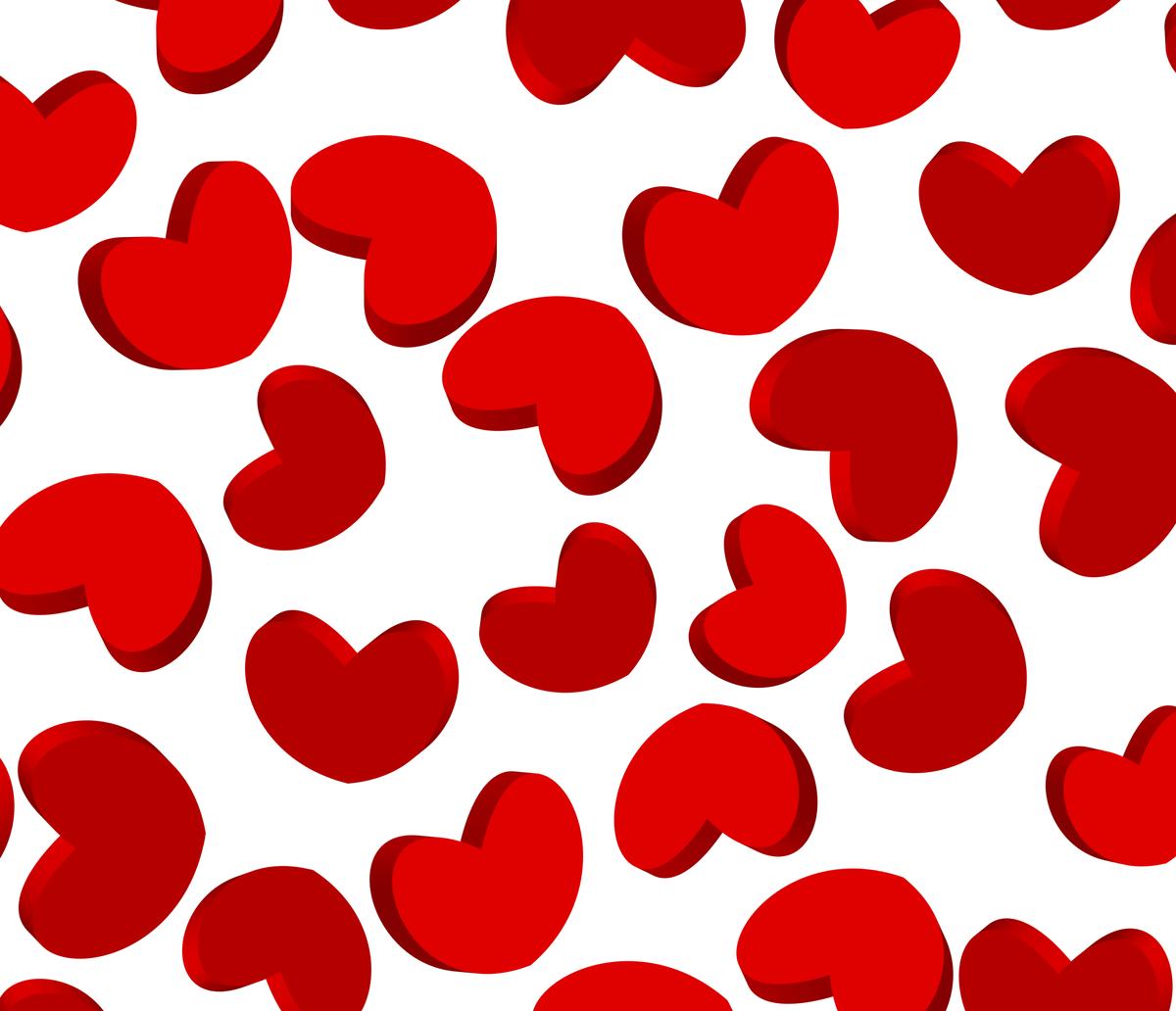 Картинка с сердечками на а4, цветами пасхе