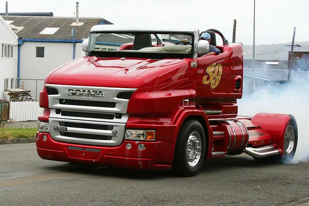 Супер грузовик фото