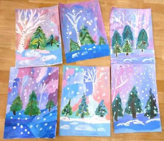 Занятие по рисованию в подготовительной группе новогодняя открытка, днем рождения девушке