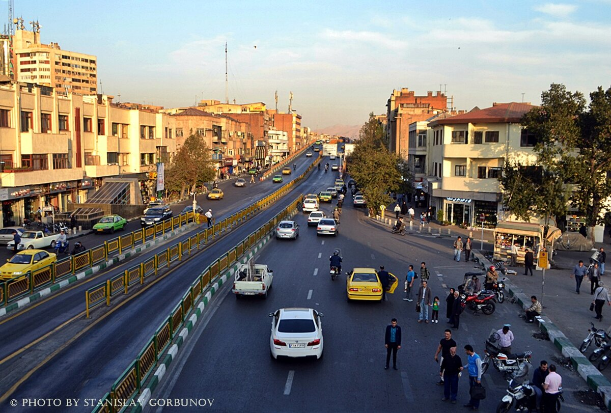 фото города тегеран позиция