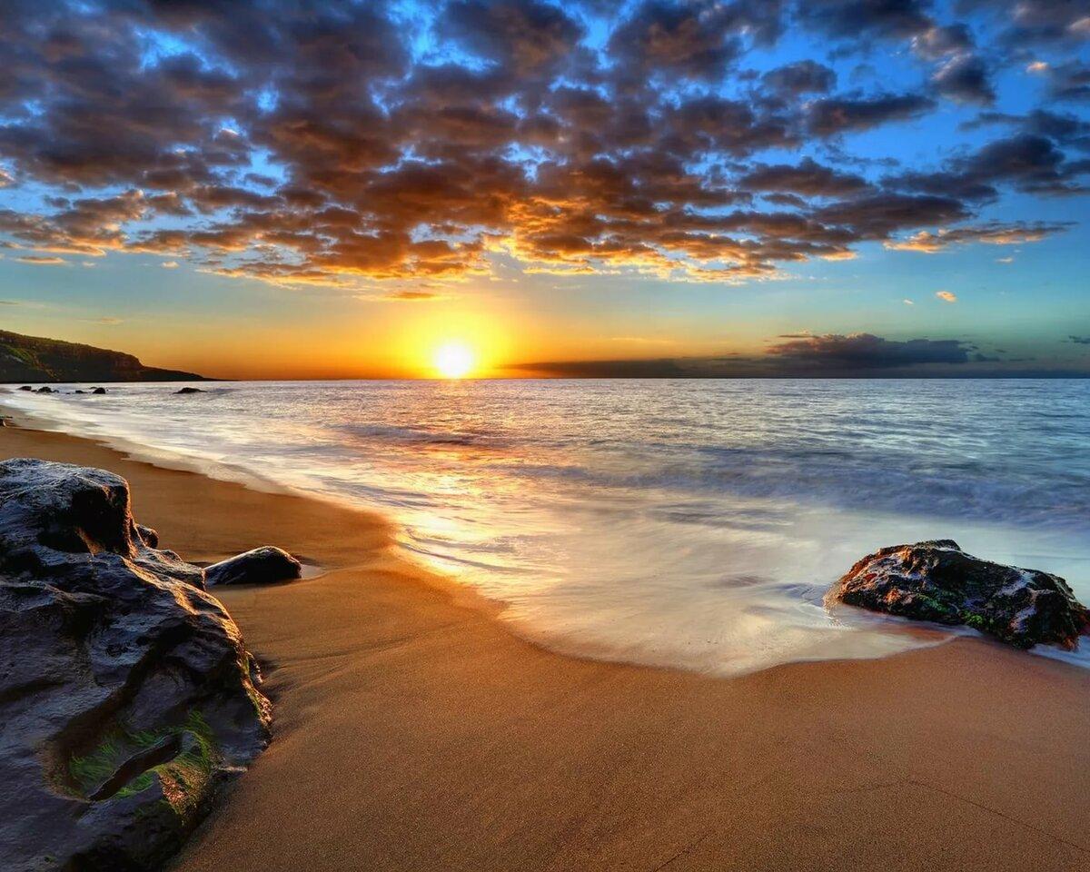 картинка заката с песком оно должно