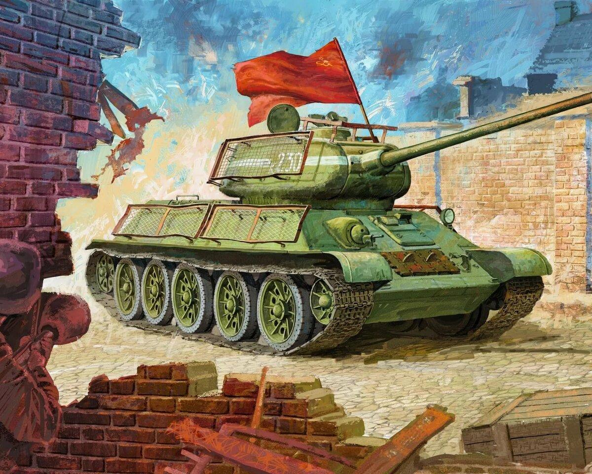 Для, картинки танков для открытки