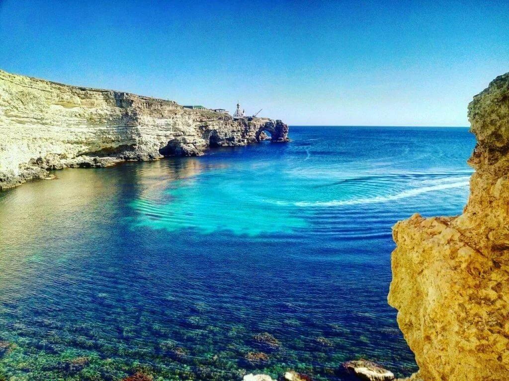 крым тарханкут фото пляжей и набережной фрезы