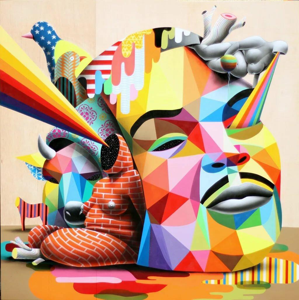Сюрреализм картинки абстракция