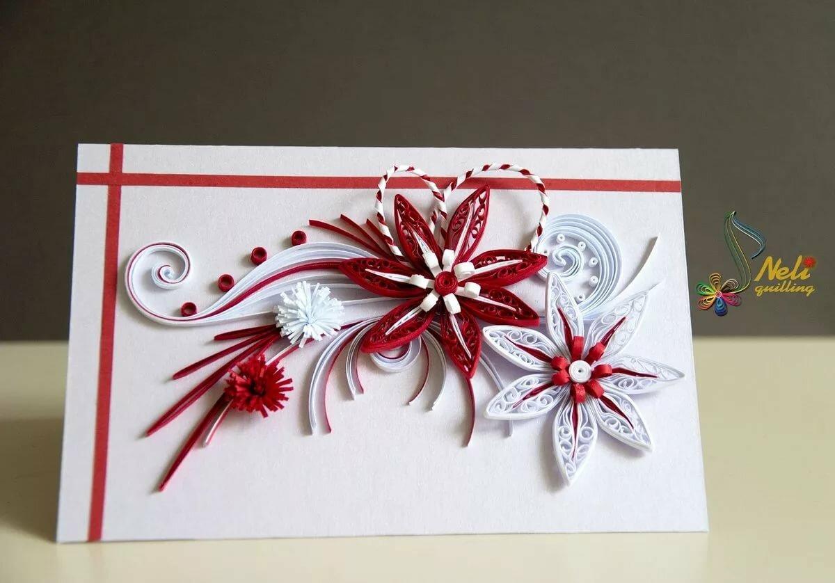 Как сделать красивую открытка
