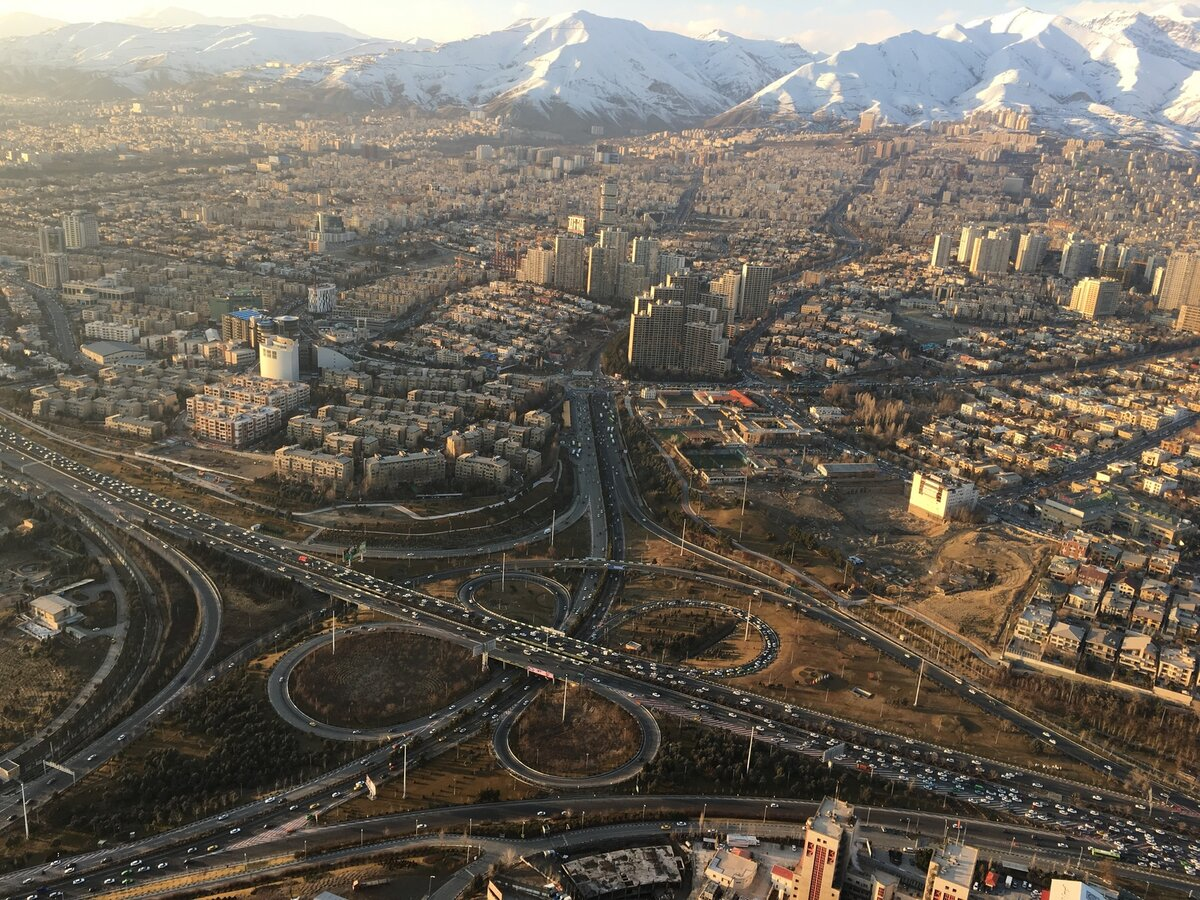 Фото города тегеран