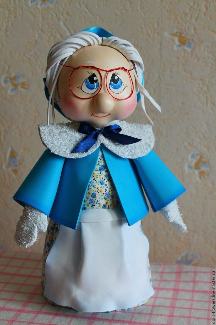коем кукла из фоамирана своими руками что