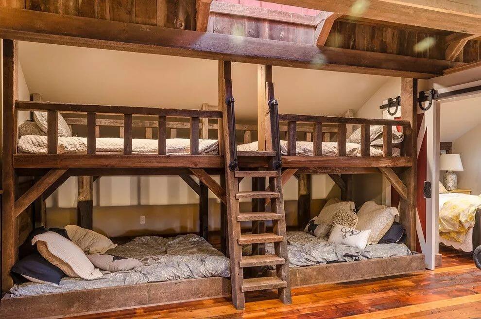 как сделать двухъярусную кровать дома