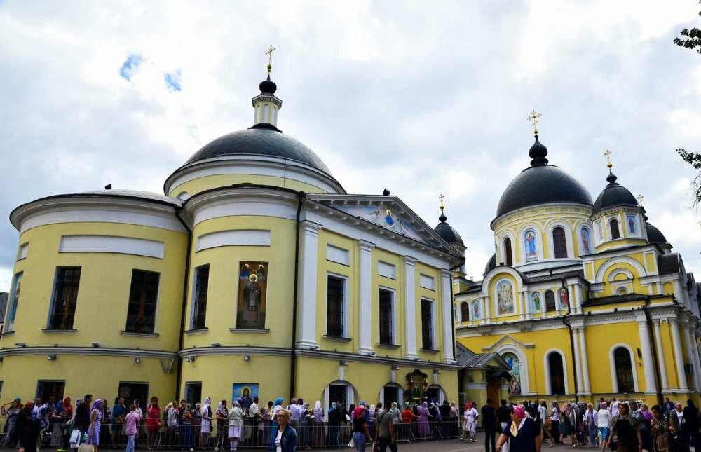 москва покровский женский монастырь на картинках одном