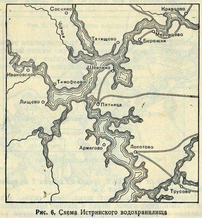 Рыбалка на истринском водохранилище. карта истринского водохранилища