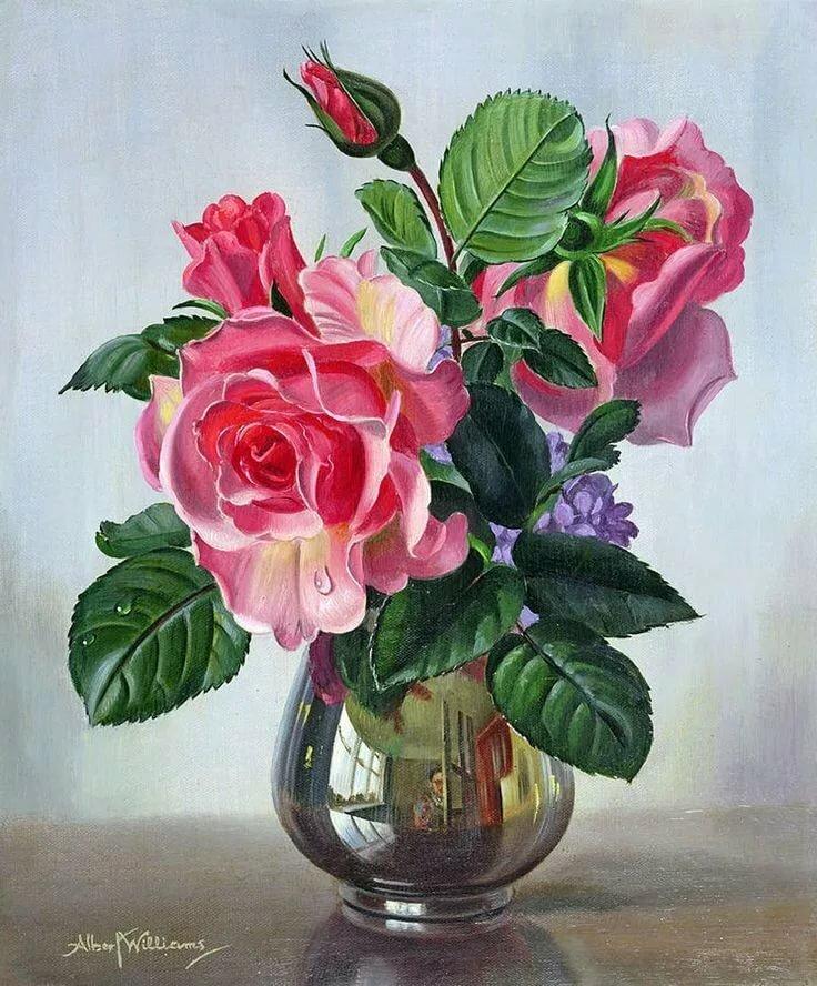 Тебя жду, натюрморт цветы открытки