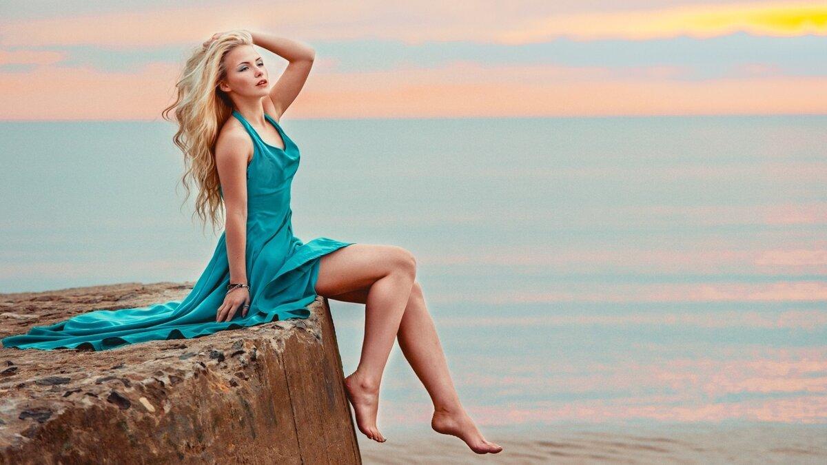 Красивые картинки блондинок в полный рост