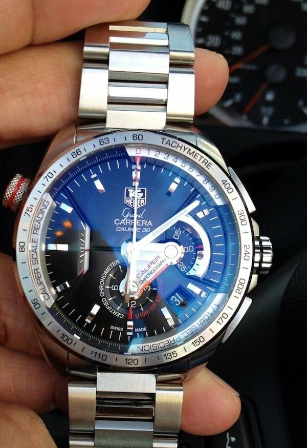 Часы Tag Heuer Carrera Calibre 36 в Кременчуге