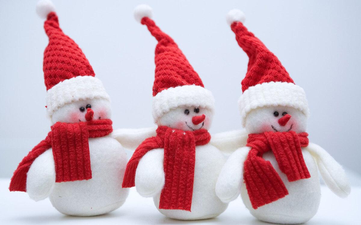 Дня, новогодние снеговики картинки красивые