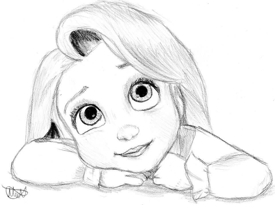 Смешные, прикольные рисунки мультяшных героев карандашом