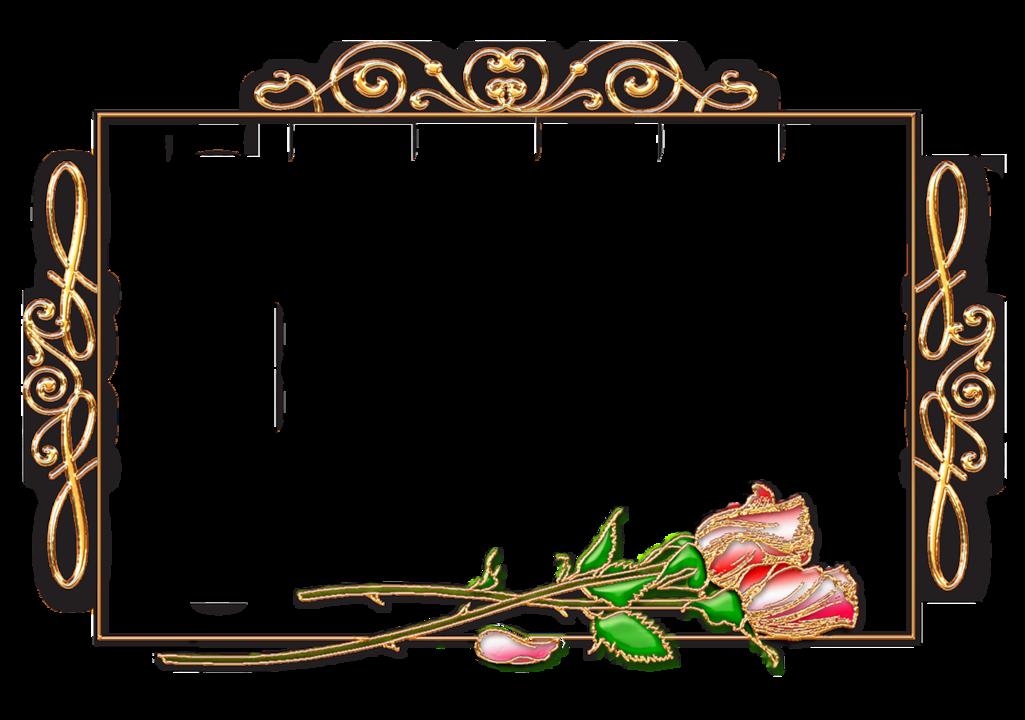 Рамка для открытки горизонтальная