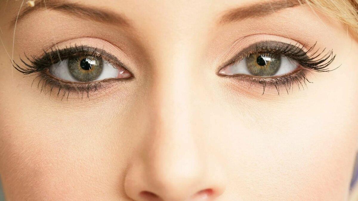 Надписью, картинки женские глаза крупным