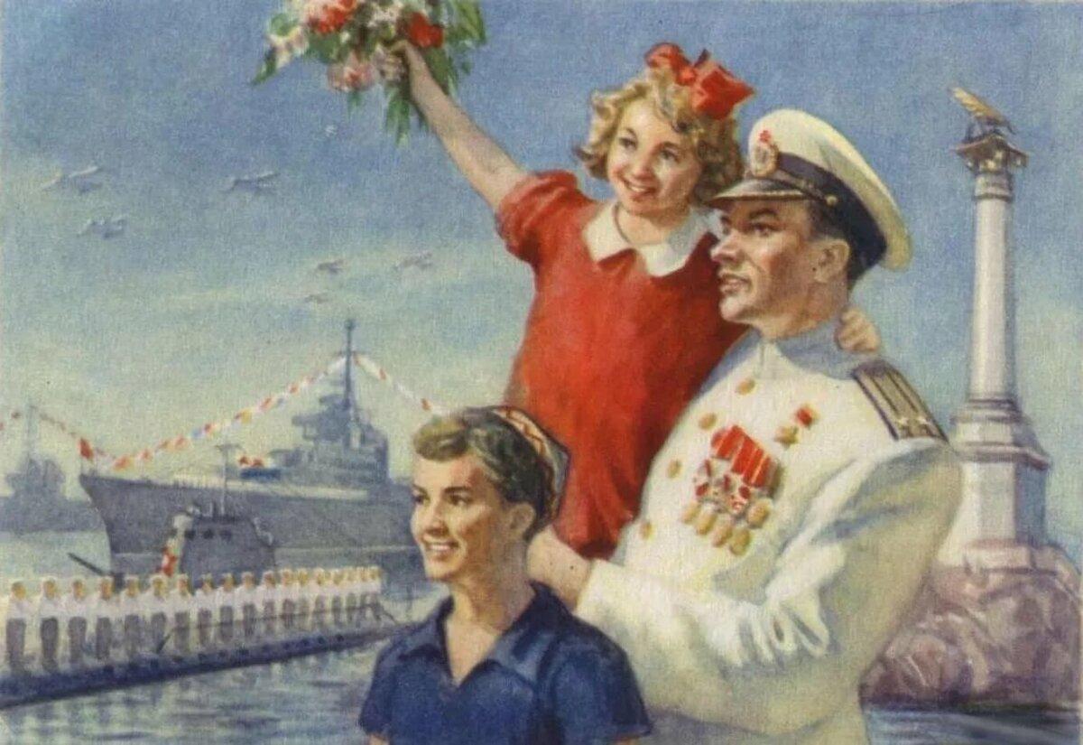 День победы открытки ссср детские, прикольные