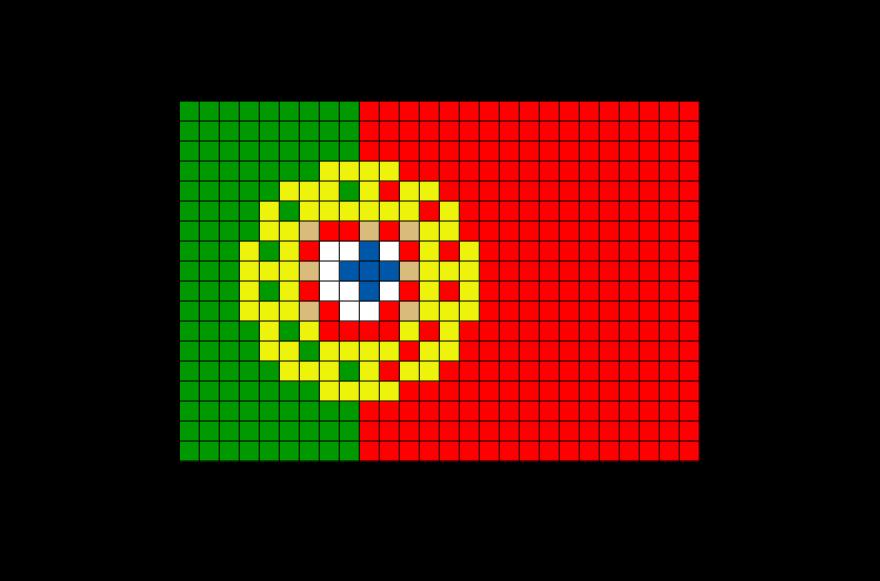 Картинки по клеточкам флаги в сердце